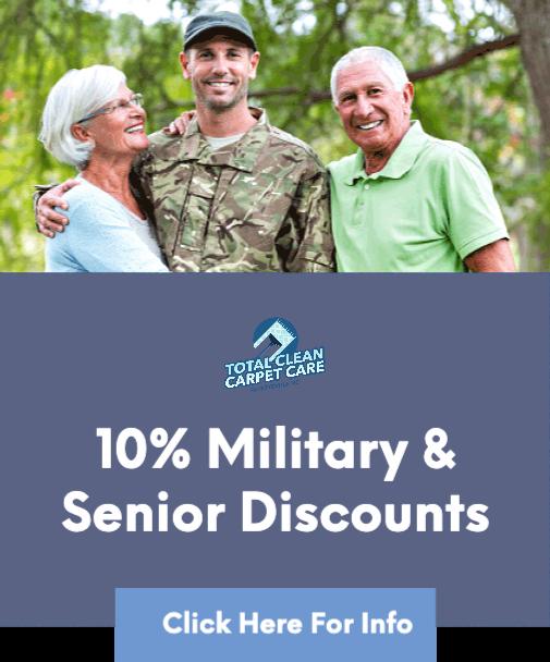 military and senior